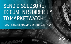 Submit Your Electronic Disclosure | Click Here